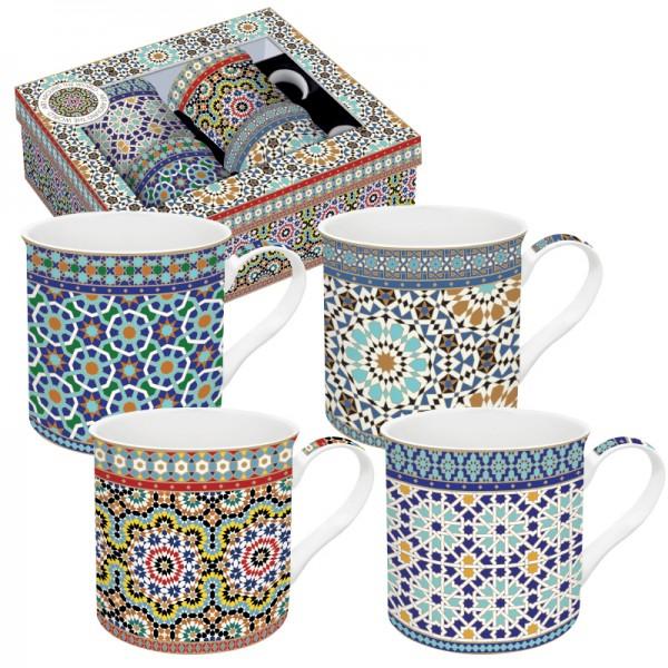 Orientalische Tassen Arabian 4er Set