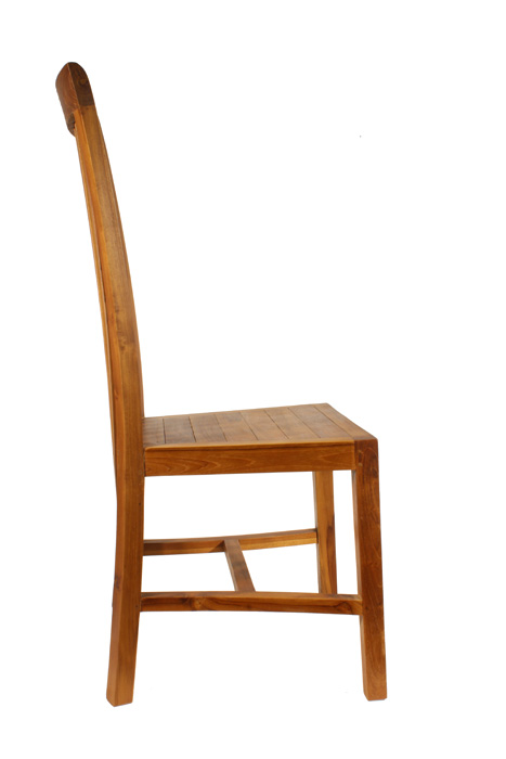 esstischstuhl teakholzstuhl mit hoher lehne st hle m bel morgenland m bel accessories. Black Bedroom Furniture Sets. Home Design Ideas