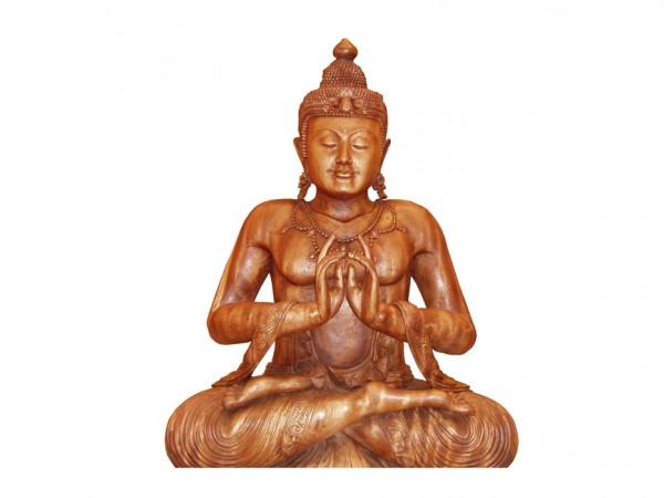 Holzbuddha