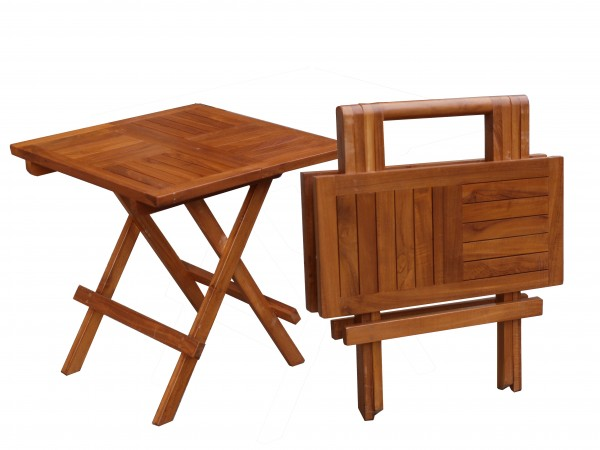Picknick Tisch quadratisch 50x50x50cm